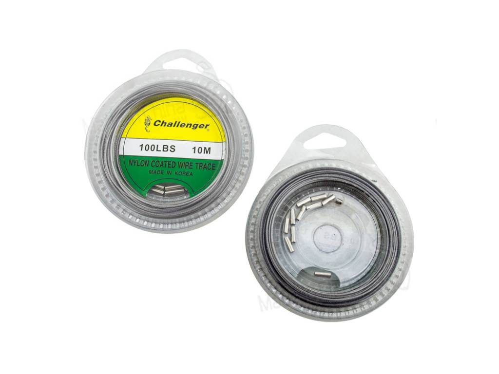 Cable Leader 100 LBS + 30 Tubitos X 10 M