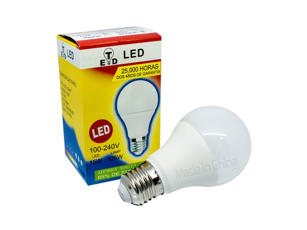 Lámpara LED 15W - 125W